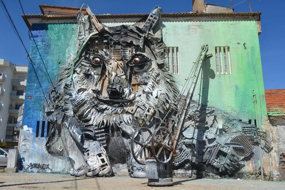 Lobo de Bordalo II- Município do Fundão