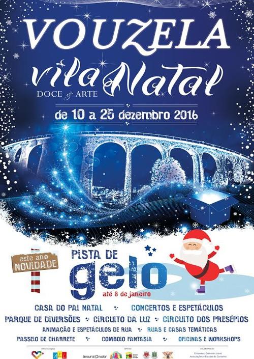 Cartaz Oficial de Vouzela Vila Natal
