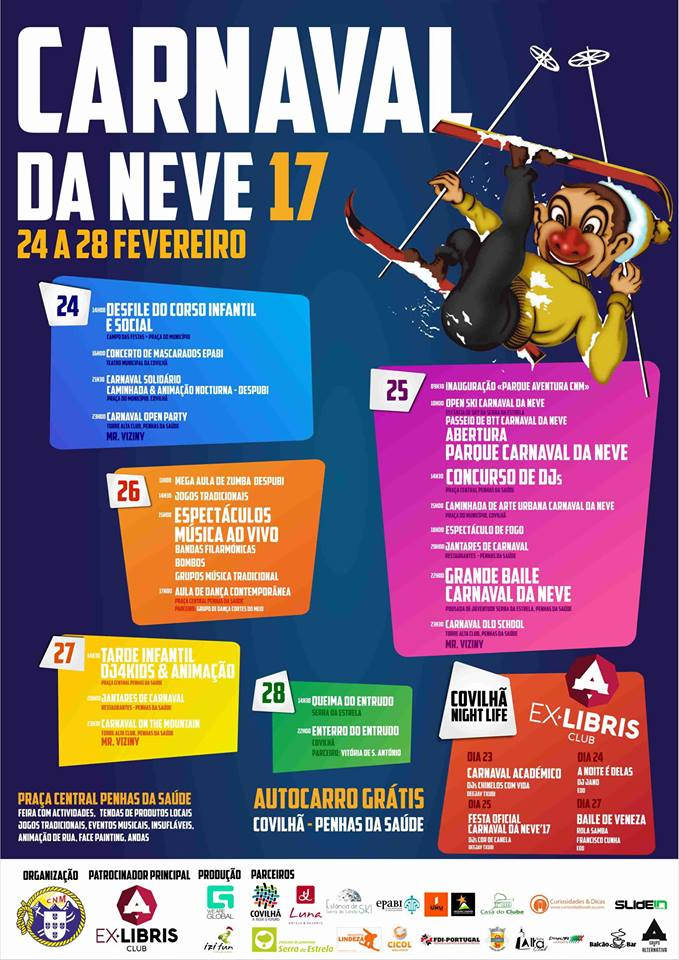 Carnaval da neve - Serra da Estrela