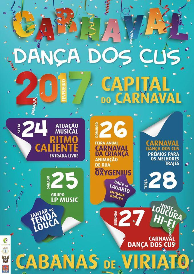 Carnaval em Cabanas de Viriato