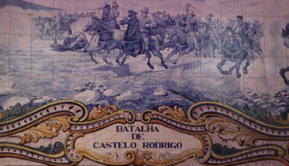 Azulejos Do Atrio Dos Pacos Do Municipio Batalha De Salgadela