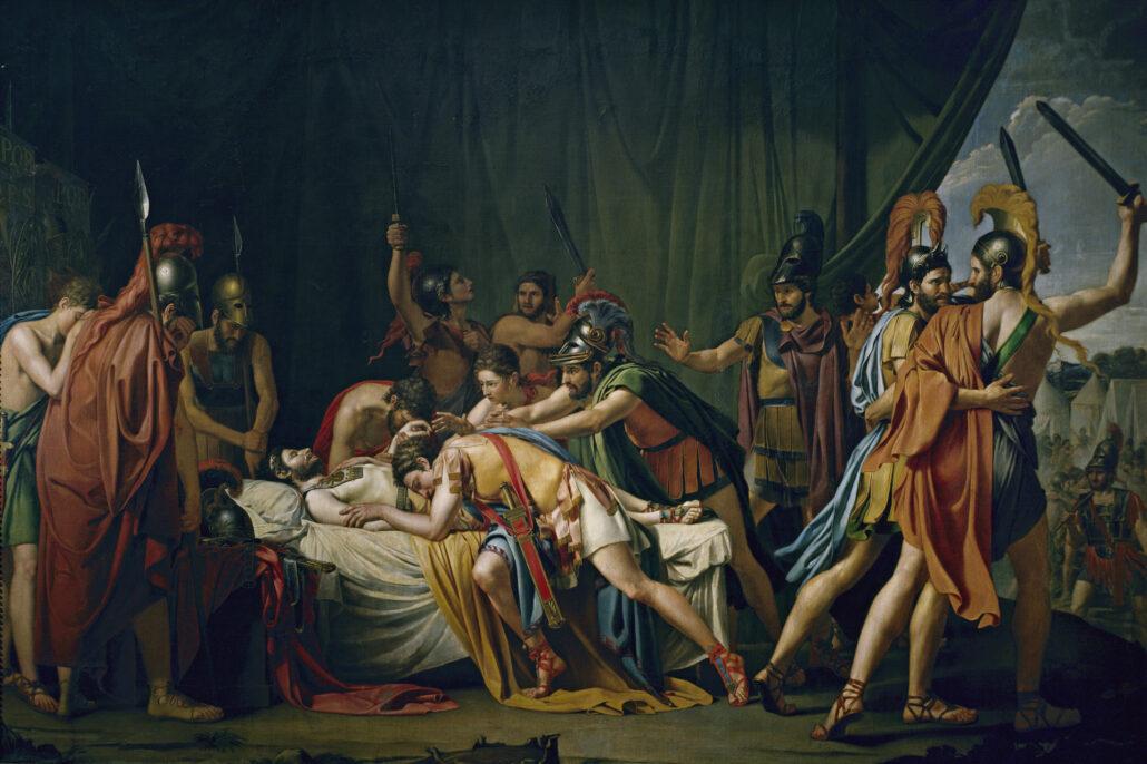 A morte de Viriato de José de Madrazo